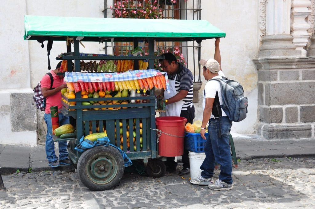 Viajar a Antigua
