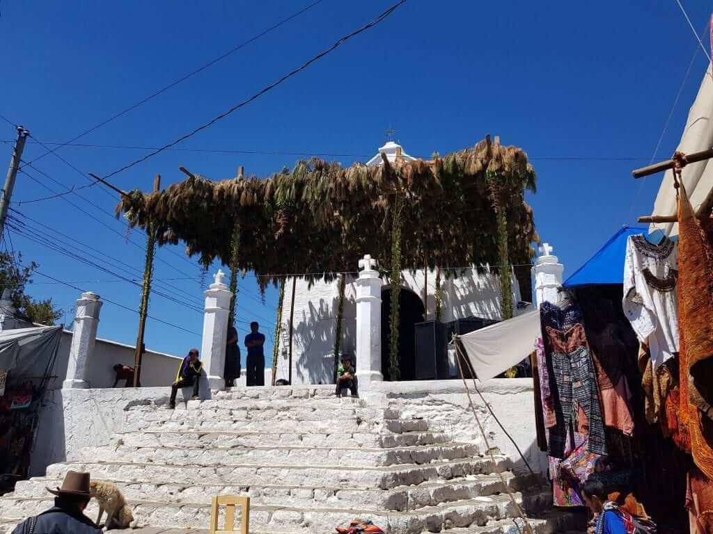 Chichicastenango Capilla del Calvario