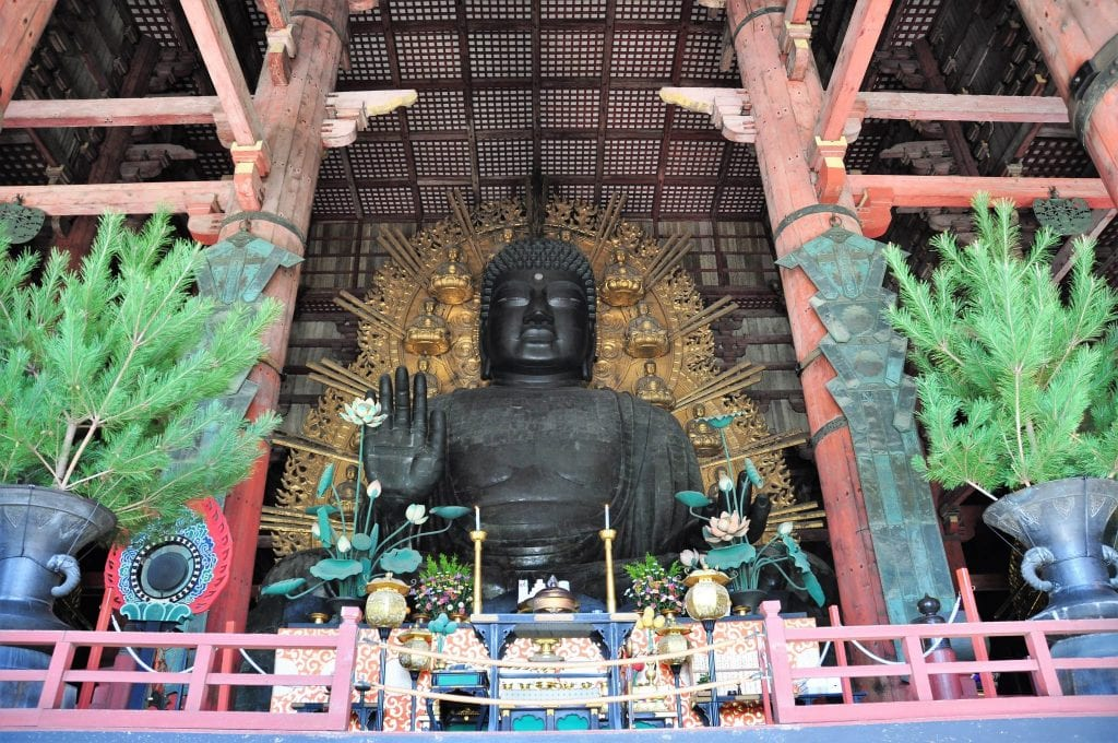 que ver en Nara Daibutsu