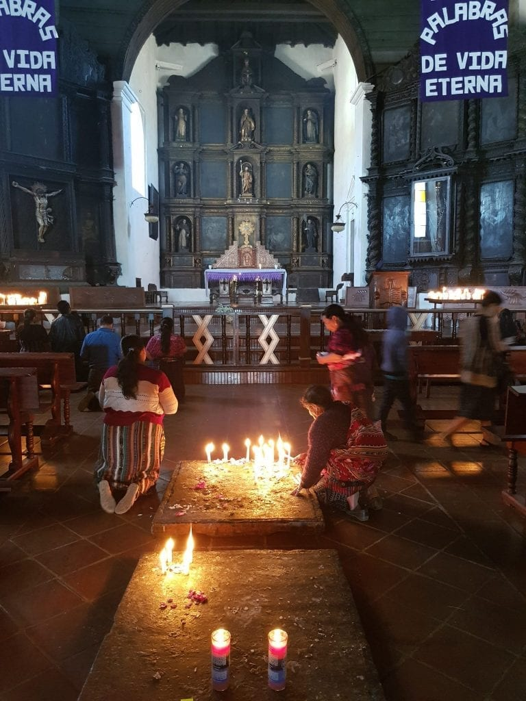 Chichicastenango IGlesia de Santo Tomás