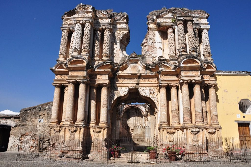 antigua, iglesia del carmen