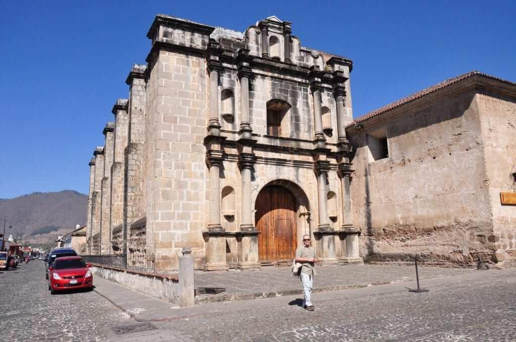 Antigua Guatemala Iglesia del Convento de Capuchinas