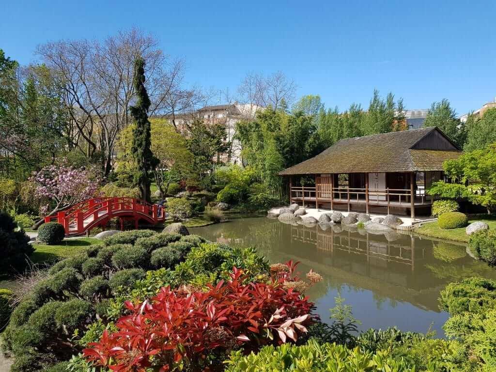 Toulouse jardín japonés