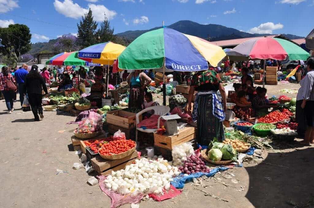 Antigua, mercado central