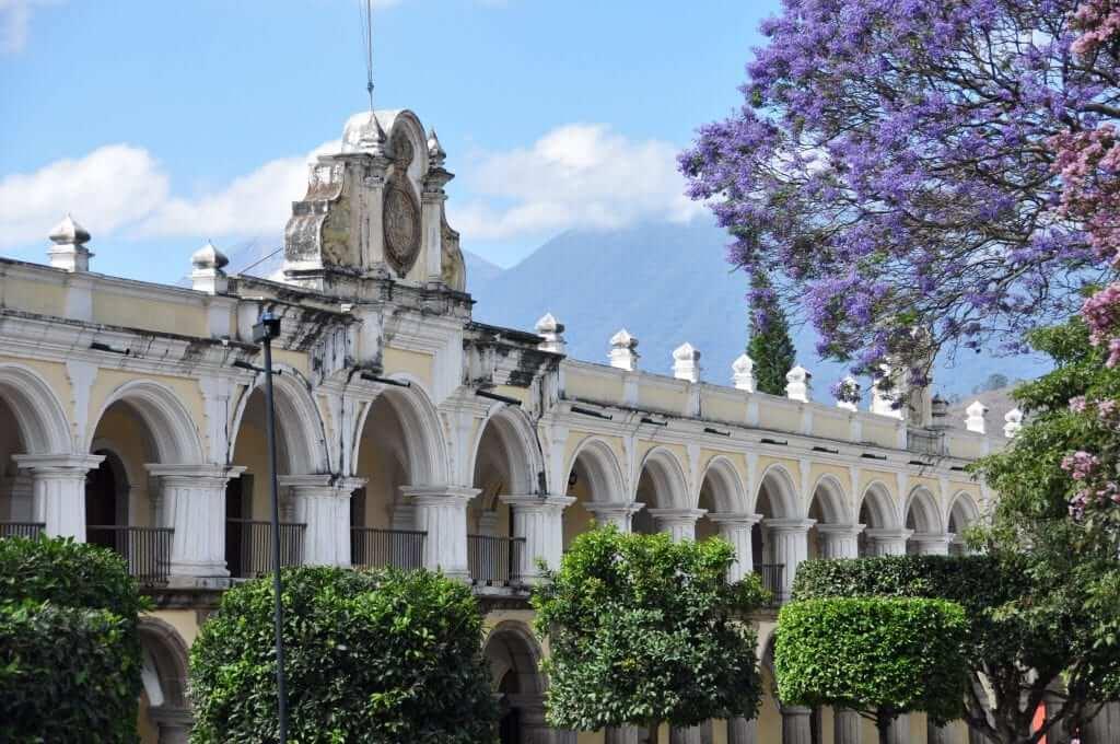 Antigua, Palacio de los Capitanes Generales, Guatemala