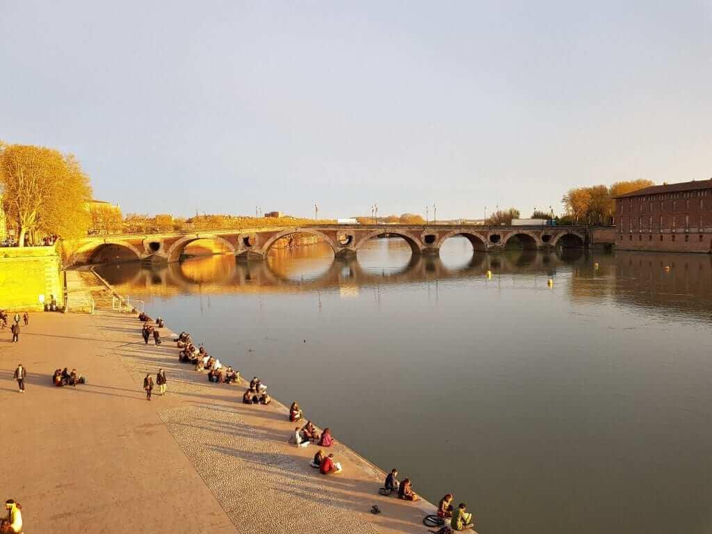 Toulouse Río Garonna