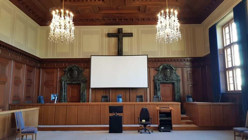 Sala 600 juicios de Nüremberg