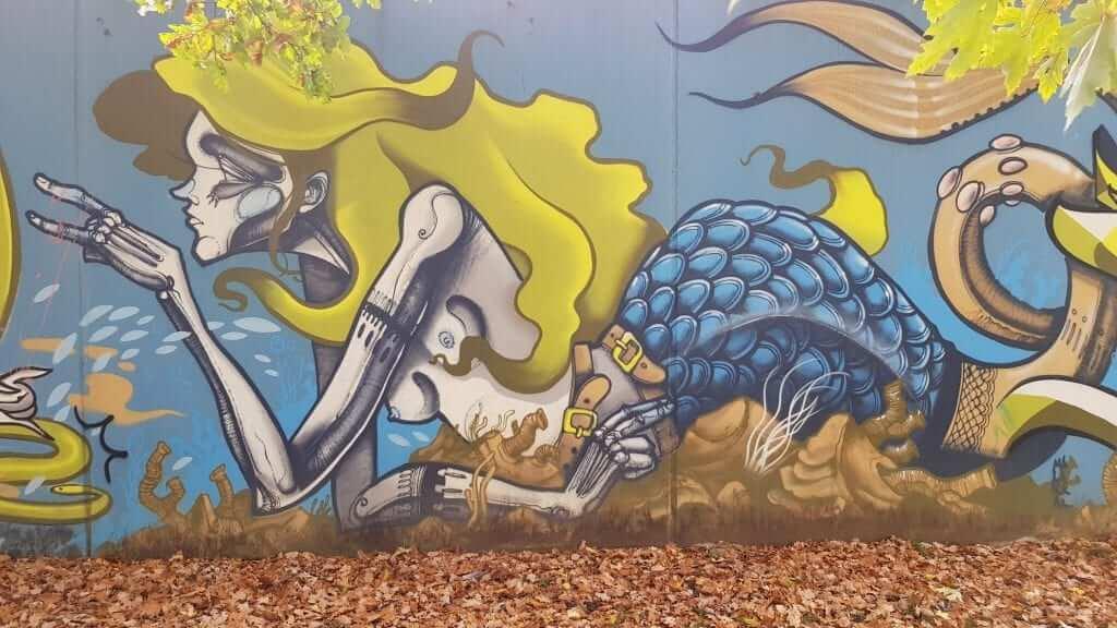 Juicios de Núremberg arte urbano