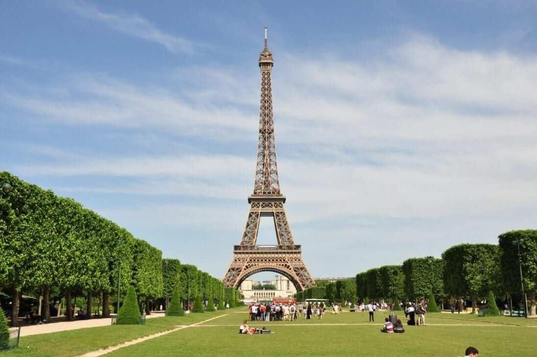Paris Visite Torre Eiffel