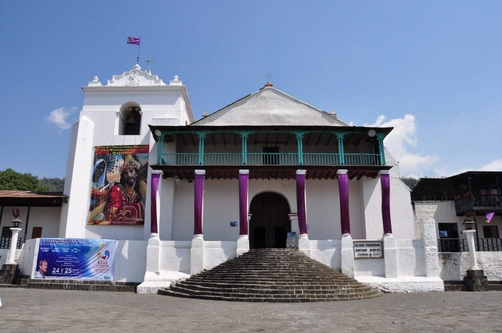 Lago Atitlán, iglesia de Santiago apostol