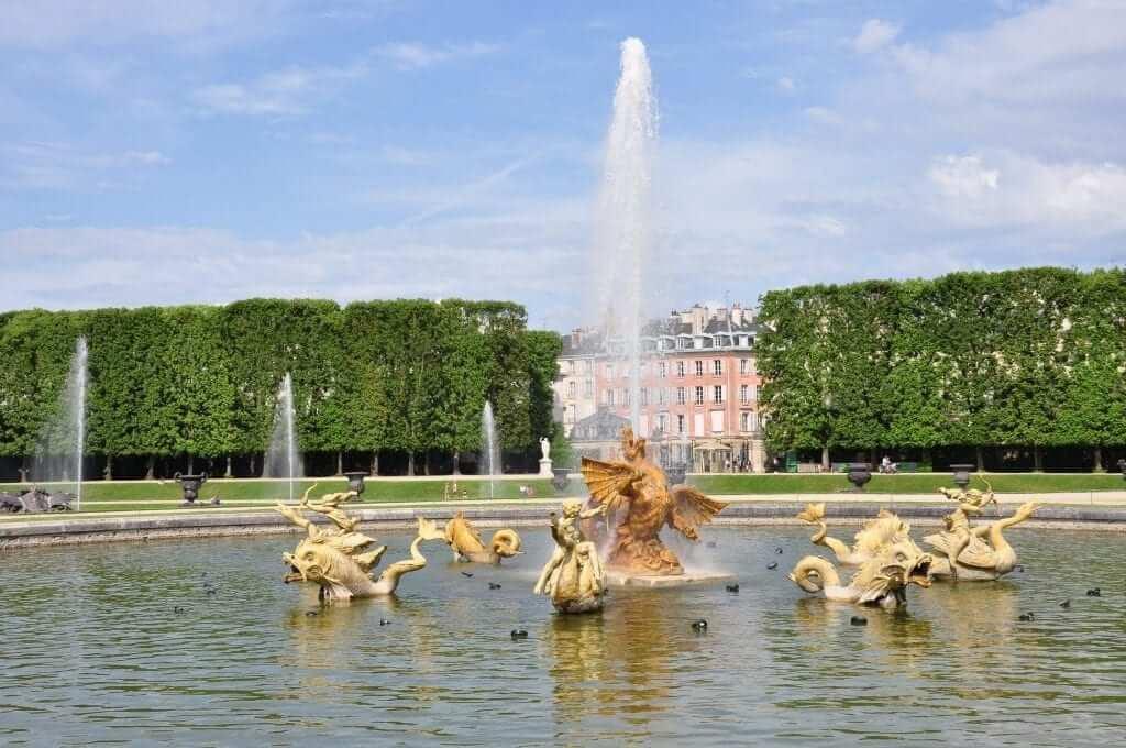 Jardines De Versalles Y Las Grandes Aguas Musicales Kris Por El