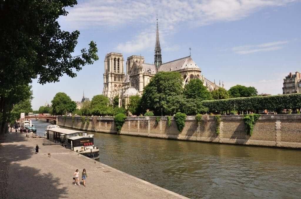 que visitar en París Notre Dame