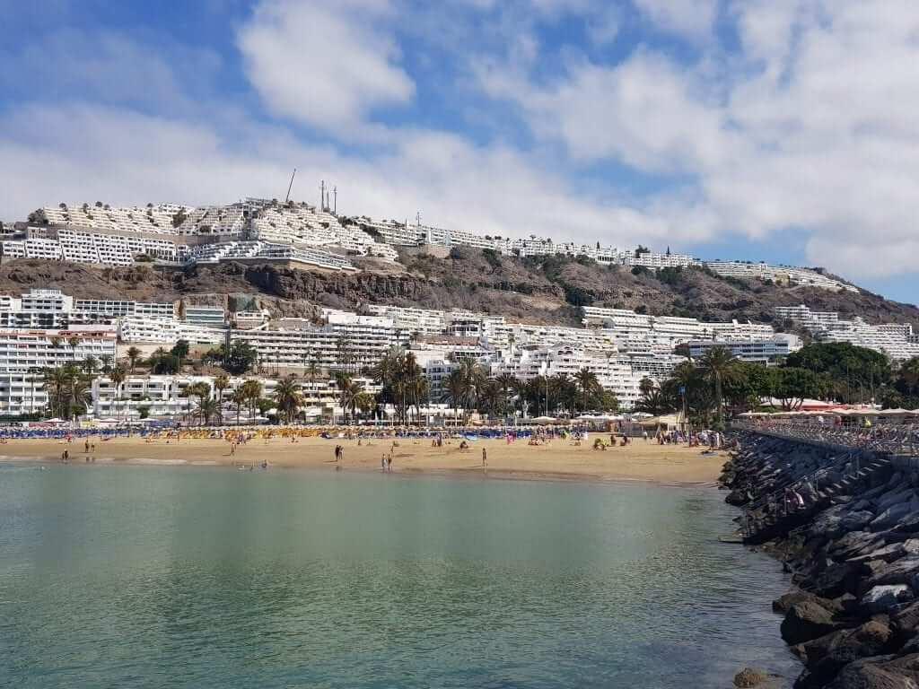playas de Gran Canaria, Puerto Rico