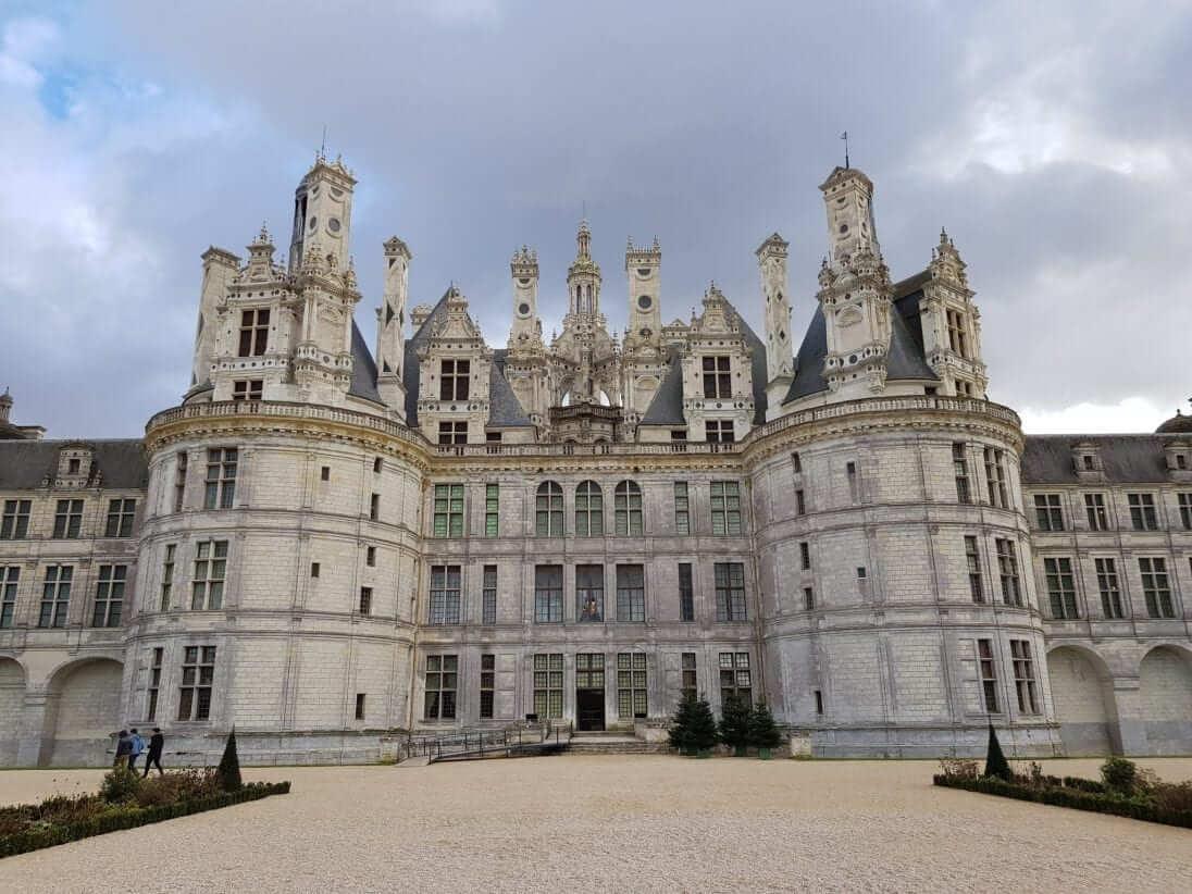 castillo de chambord Francia