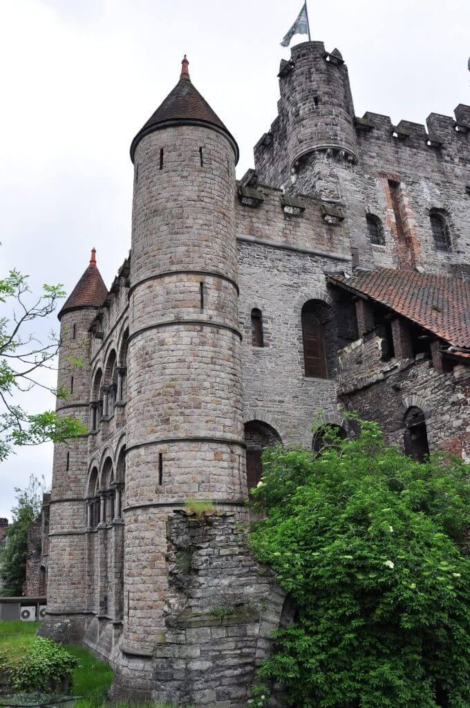 Castillo De Los Condes De Flandes Gante Belgica 3 Kris Por El