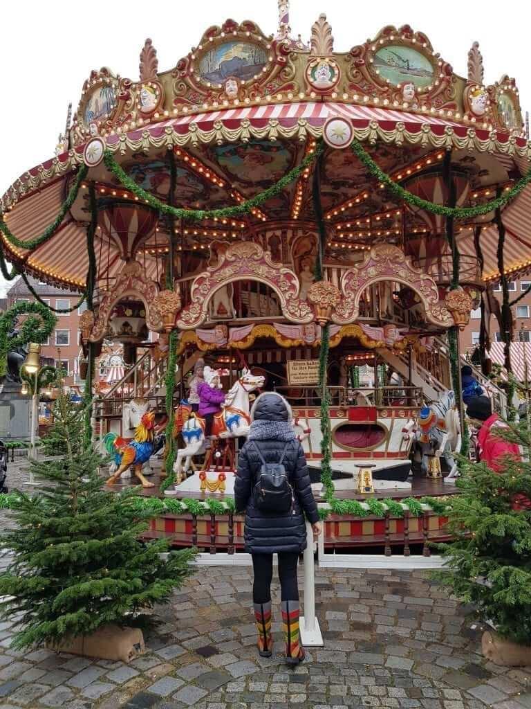 Mercados navideños de Alemania, Núremberg