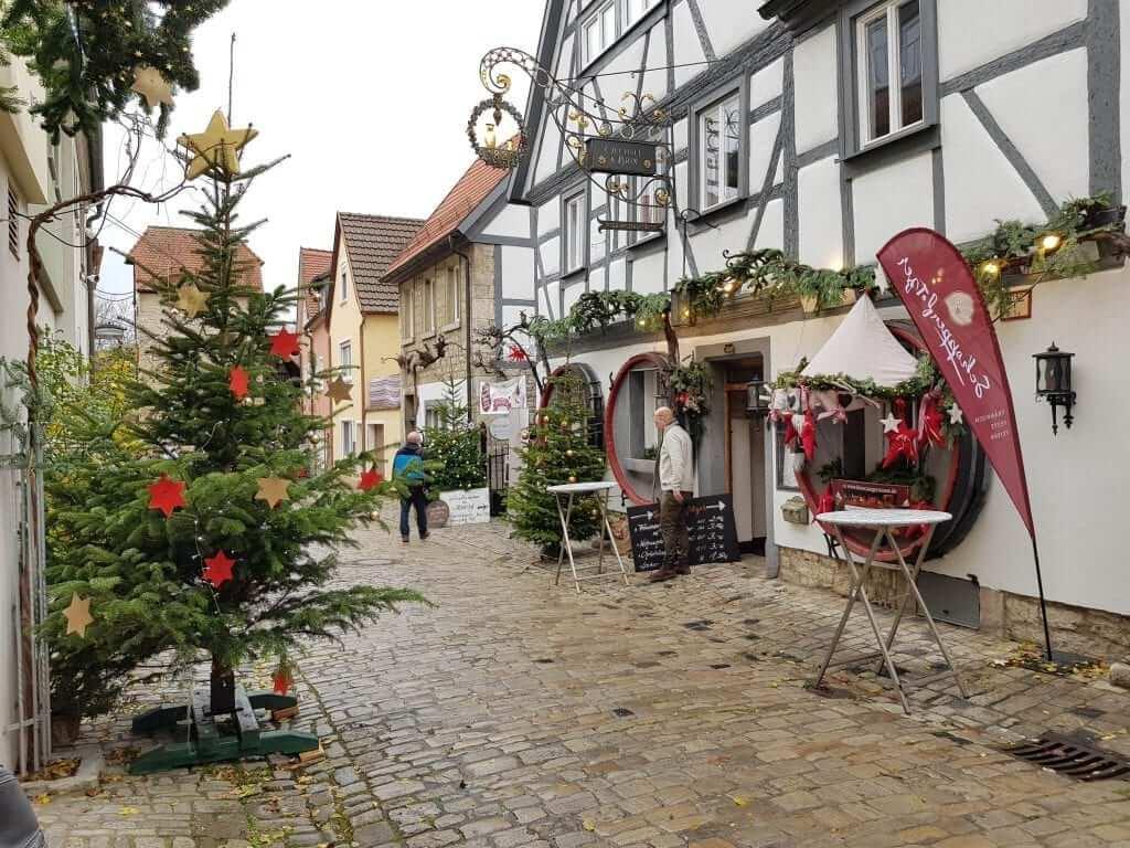 Mercados navideños de Alemania Sommerhausen