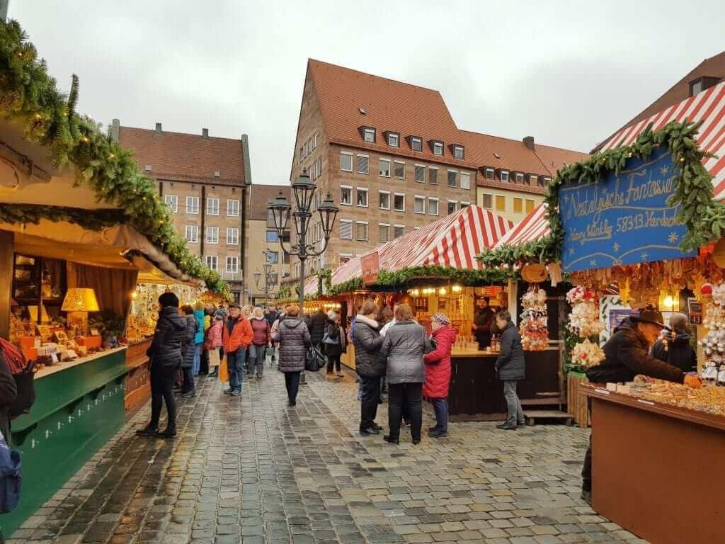 que hacer en Núremberg, mercado de Navidad