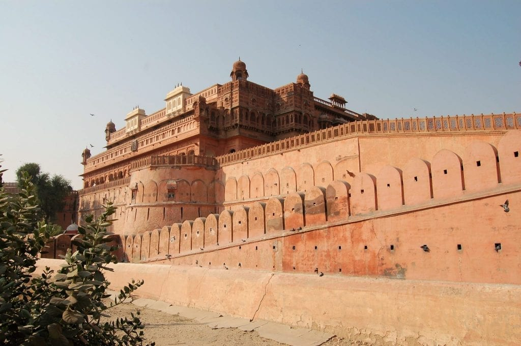 que ver en Rajastán, Fuerte de Bikaner