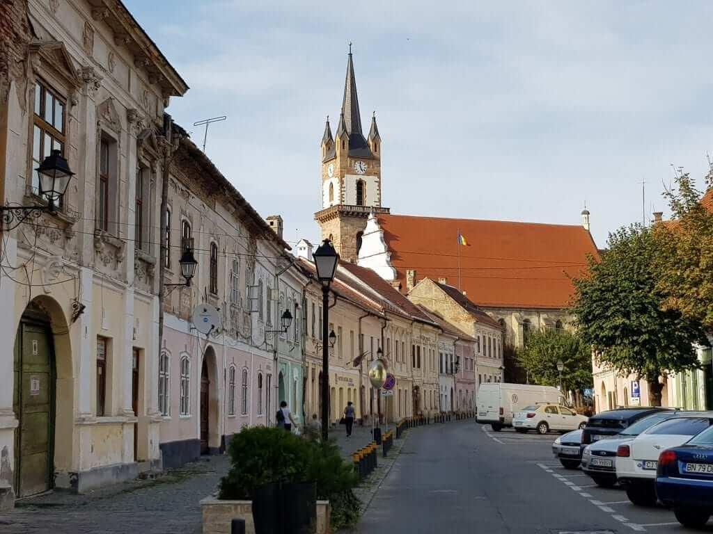 Viaje a Rumanía, Bistrita