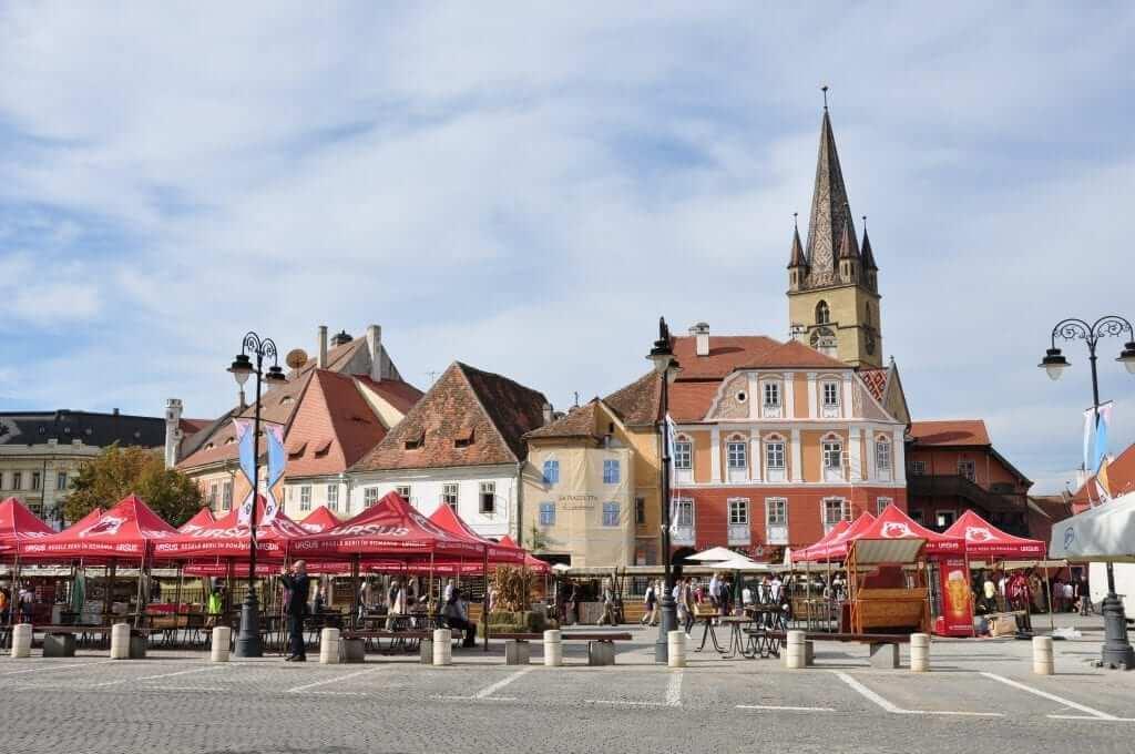 Viaje a Rumanía, Sibiu