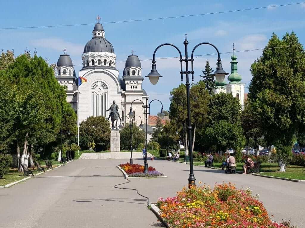 Viaje a Rumanía, Targu Mures