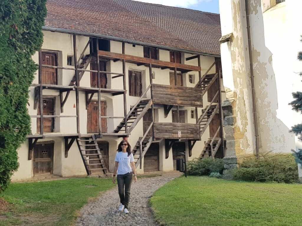 Viaje a Rumanía, iglesia sajona