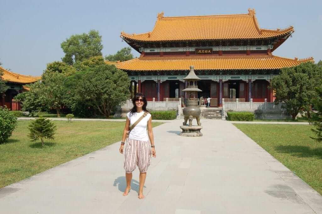 Lumbini, Templo de China