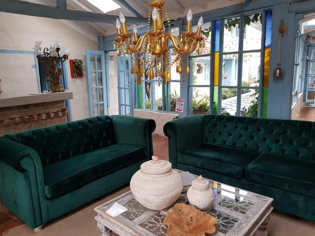 dormir en Villa de Leyva, casa provenzal