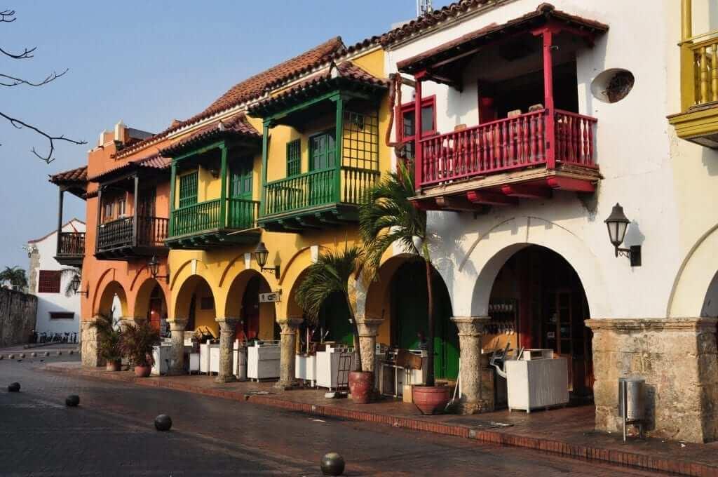 Portal de los Dulces, Cartagena de Indias, Colombia