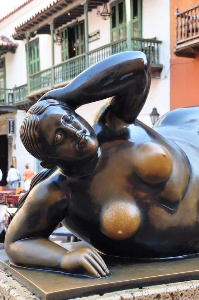 Esculturas de Botero, Colombia