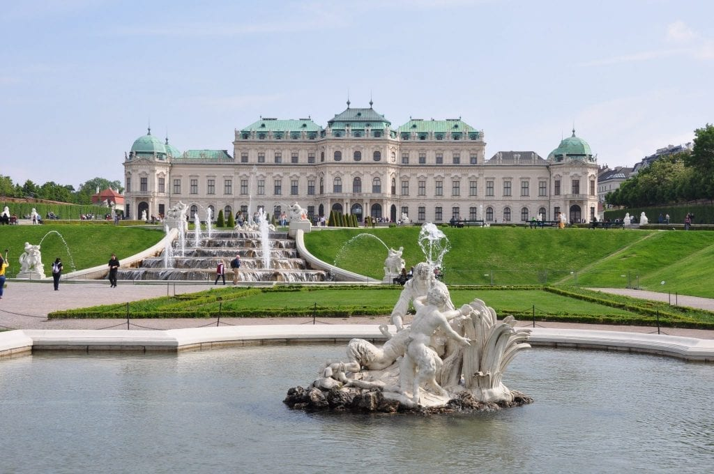 que visitar en Viena, Palacio del Belveder, Viena