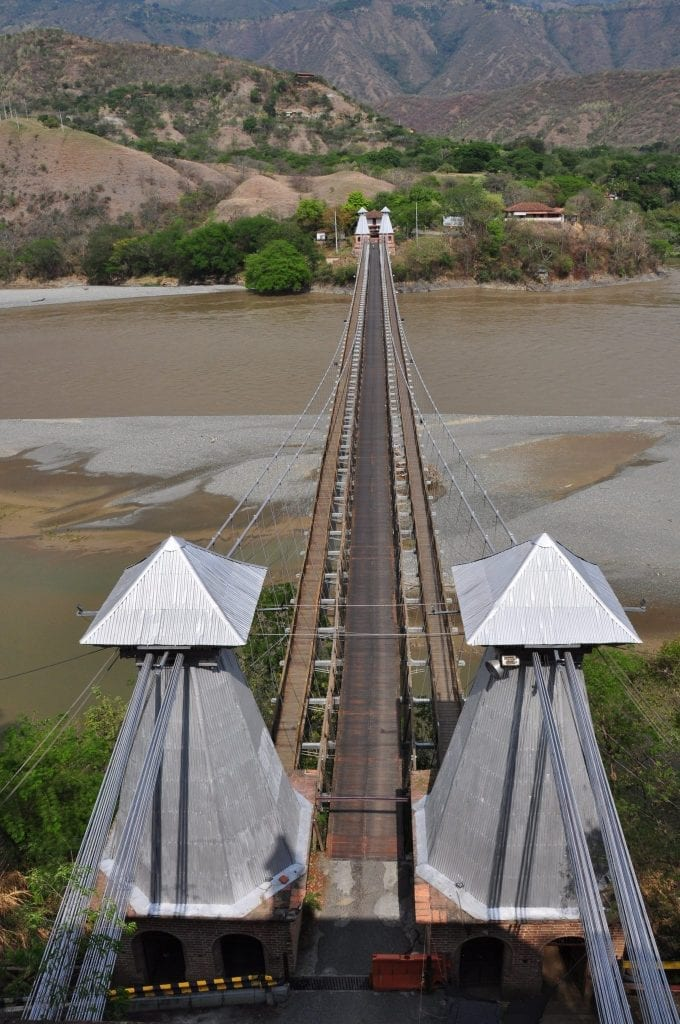 que ver en Colombia, puente de occidente