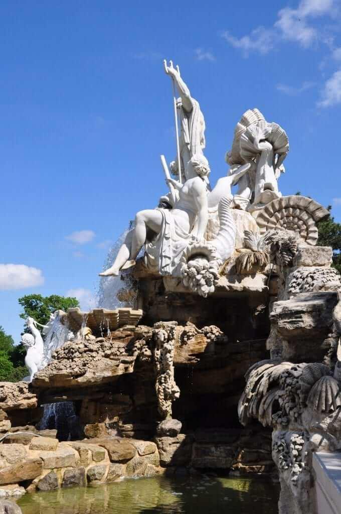 Fuente de Neptuno, Palacio Schönbrunn, Viena