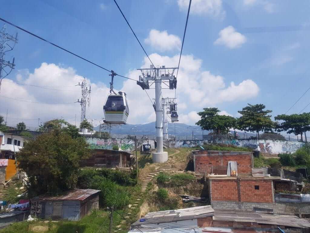 Viaje a Colombia, Metrocable de Medellín