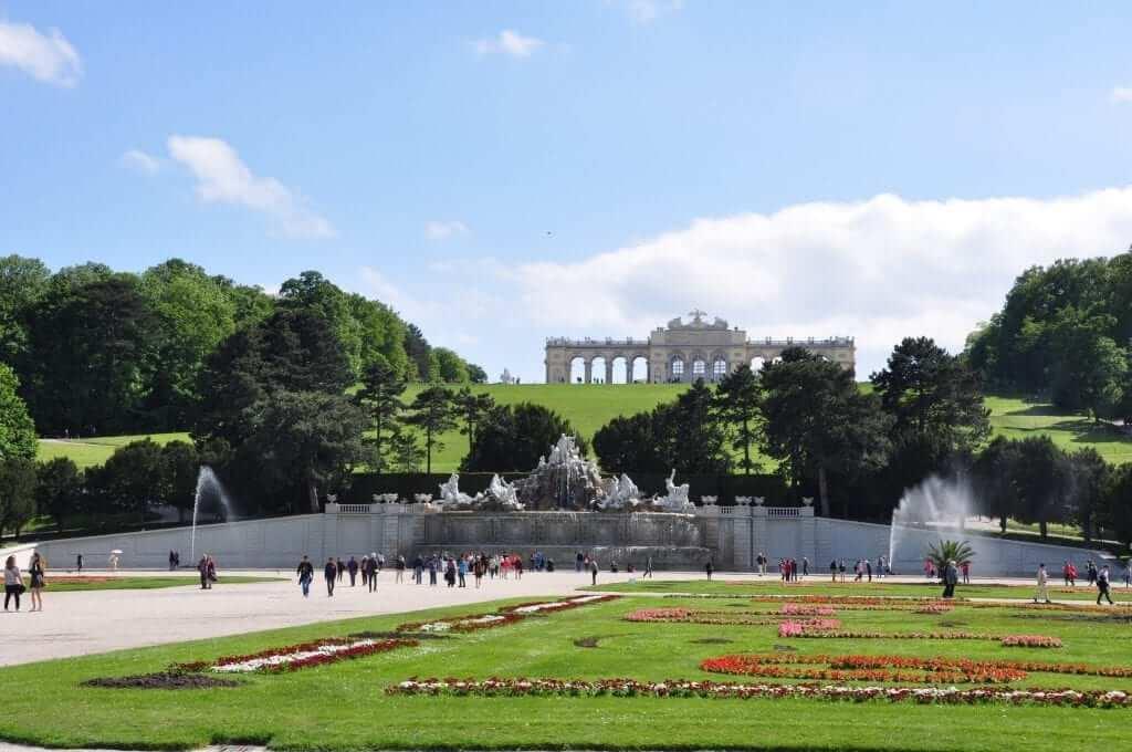 Palacio Schönbrunn, Jardines, Viena