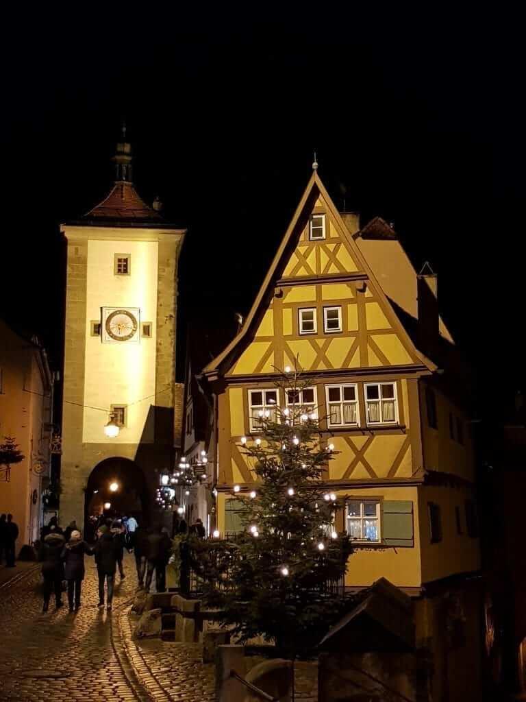 que ver en Rothenburg Alemania