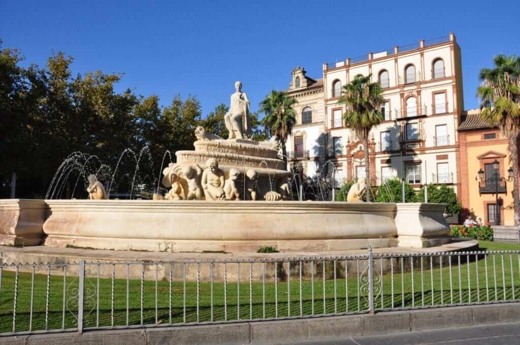 Plaza de Jerez en Sevilla
