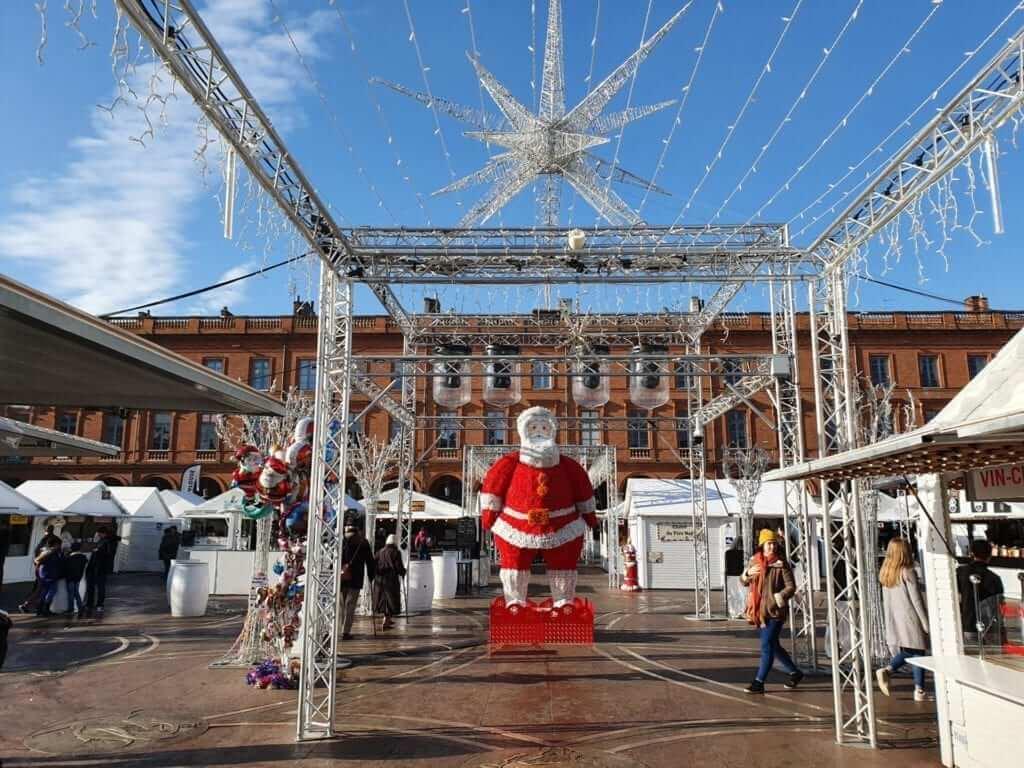Mercado de Navidad de Toulouse