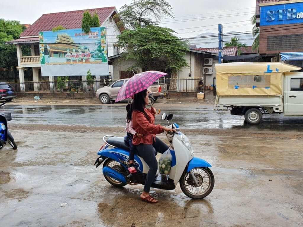 Tiempo en Laos