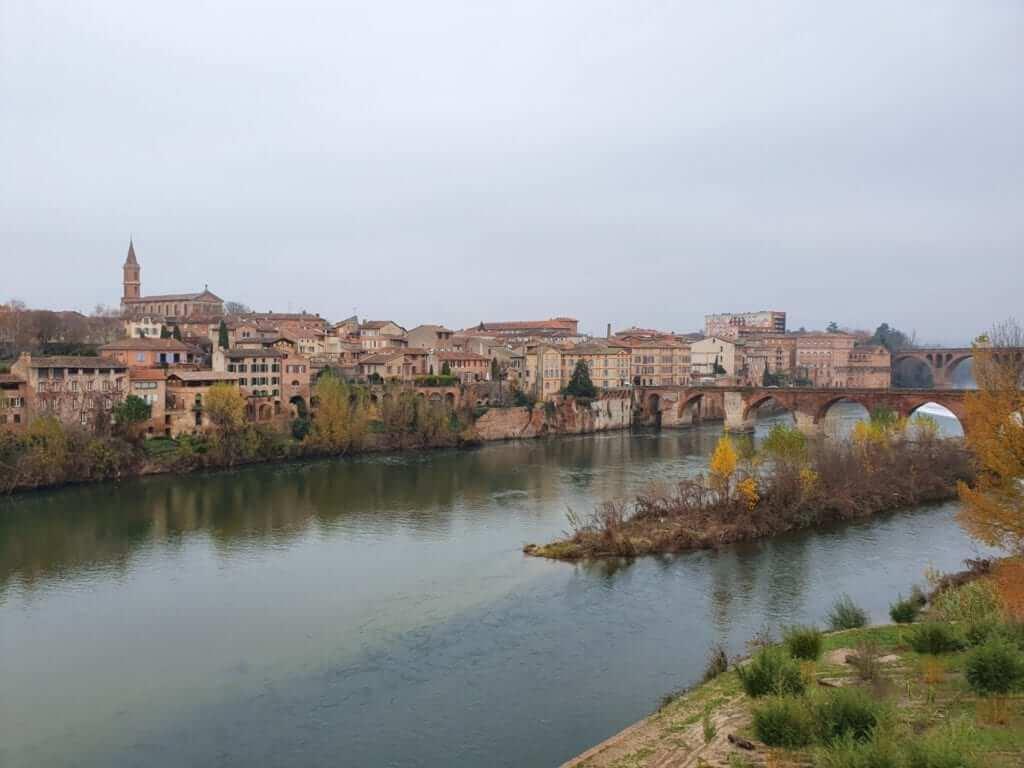 Albi y el río Tarn