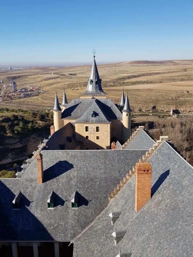 que ver en Segovia, Alcázar