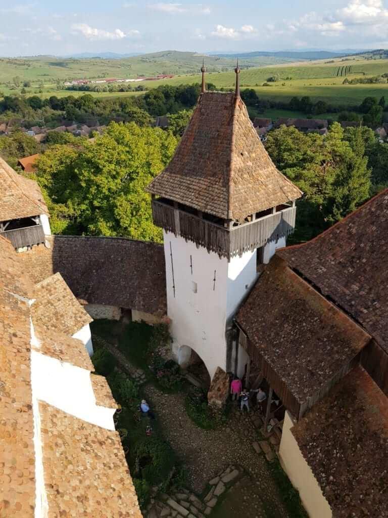 Viscri iglesia fortificada
