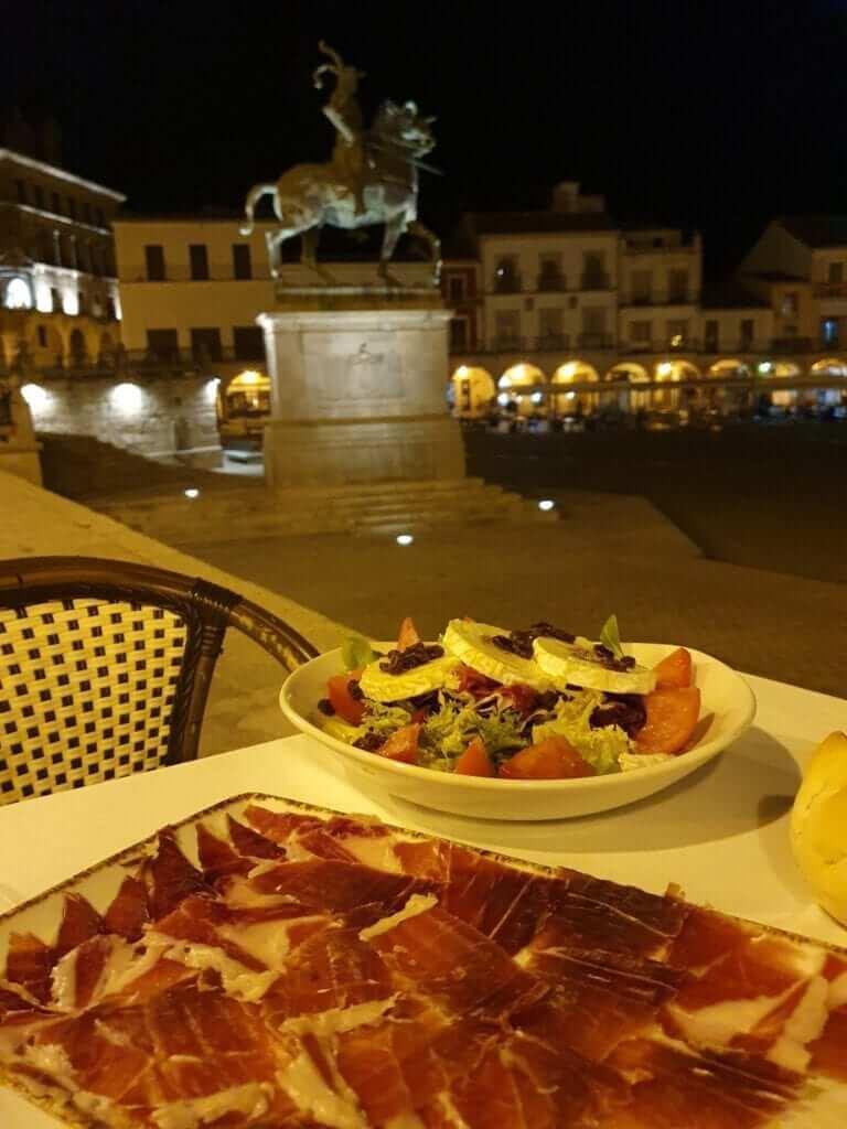 comer en Extremadura