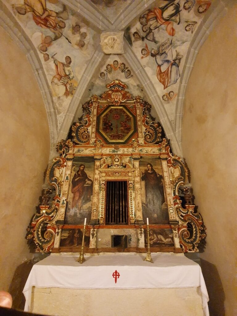 Yeste, capilla de la santa espina